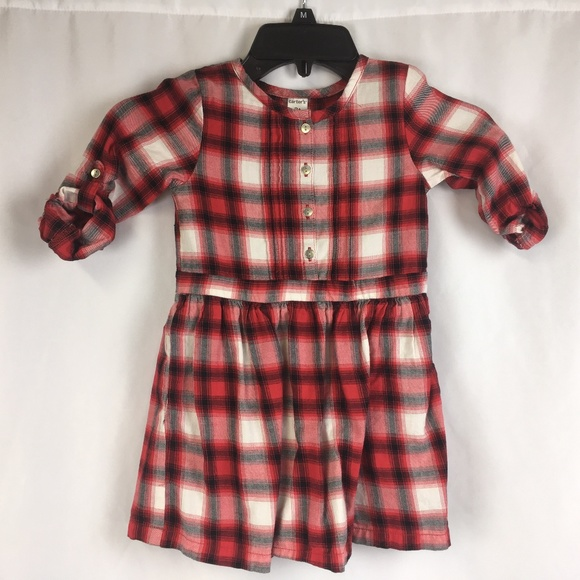 47ae1dd7b3f8 Carter's Dresses | Carters Toddler Girls Plaid Dress 3t | Poshmark